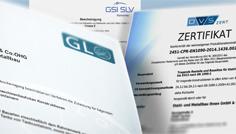 Zertifikate & Nachweise