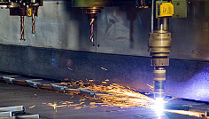 Drilling/Flame-cutting